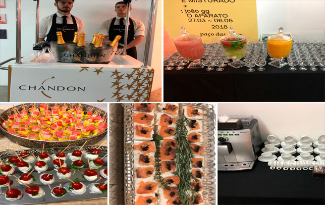 Coquetel Finger Food Cigarini Buffet & Catering